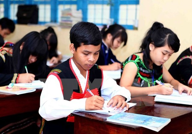 Central Highlands provinces repair schools for new academic year hinh anh 1