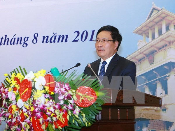 29th Diplomatic Conference wraps up hinh anh 1
