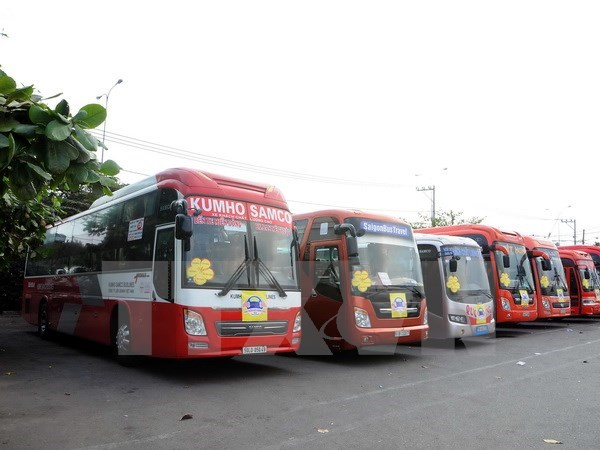 Coach routes connecting Vietnam to Thailand under discussion hinh anh 1