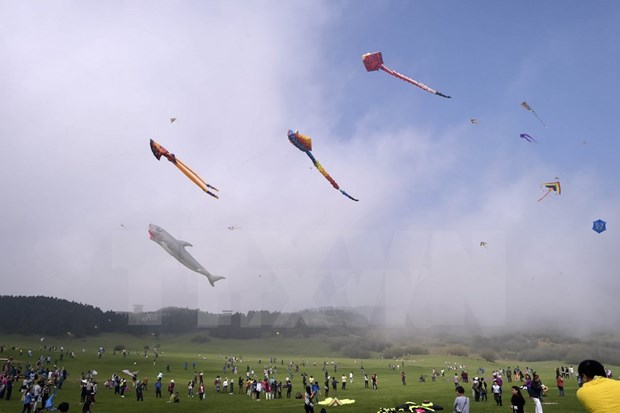 Flute kites: a centuries-old game for all ages hinh anh 1