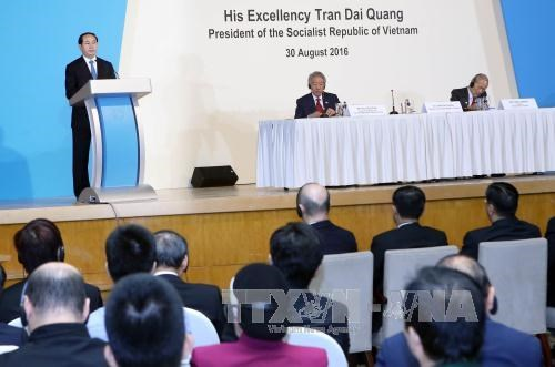 Vietnamese President addresses Singapore Lecture hinh anh 1