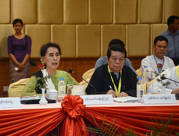 Myanmar kicks off 21st Century Panglong Peace Conference hinh anh 1