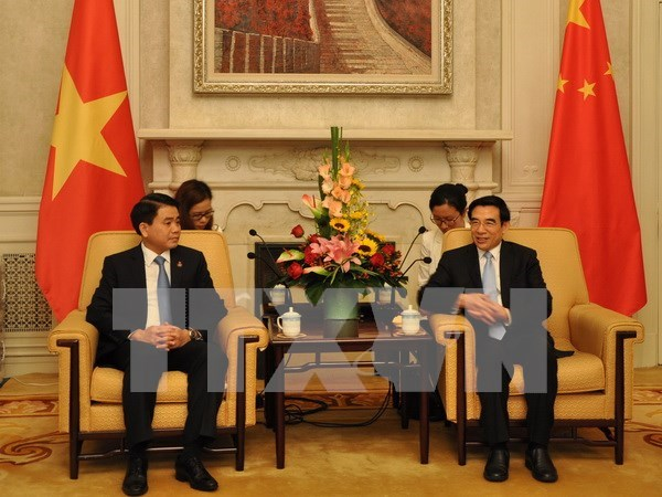Hanoi, Beijing promote cooperation hinh anh 1