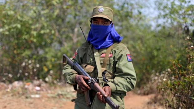 Myanmar army tightens security at Kokang region hinh anh 1