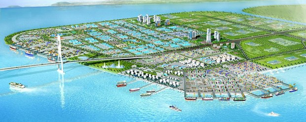 Foreign companies to develop seaport, industrial park complex hinh anh 1