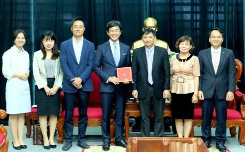 Japan firm to invest in Da Nang education hinh anh 1
