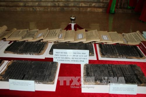 Ha Tinh has woodblocks listed as world documentary heritage hinh anh 1