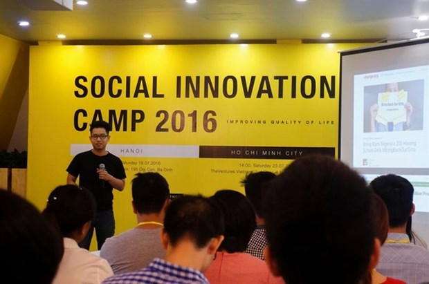 Biggest start-up conference, exhibition opens in HCM City hinh anh 1