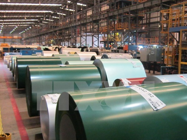 Australia starts anti-dumping investigation on VN's galvanised steel hinh anh 1