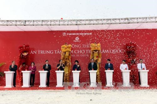 Work starts on new national exhibition and fair centre hinh anh 1