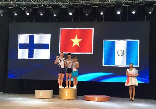 Vietnam strike gold at World Challenge Cup hinh anh 1