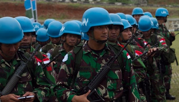 Indonesia to increase peacekeeping personnel hinh anh 1