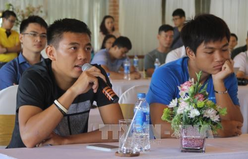 Tennis: 32 players begin main round at Vietnam Open 2016 hinh anh 1