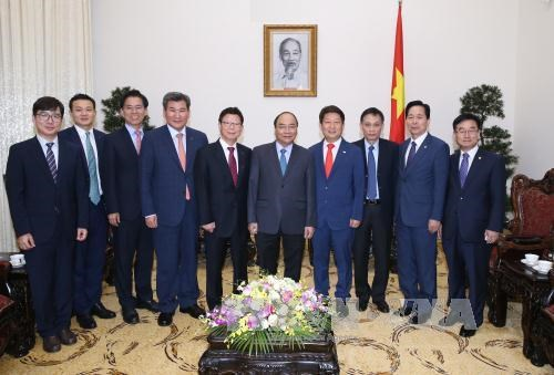 Prime Minister stresses local-level cooperation with RoK hinh anh 1
