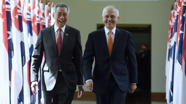 Australia, Singapore promote comprehensive strategic partnership hinh anh 1