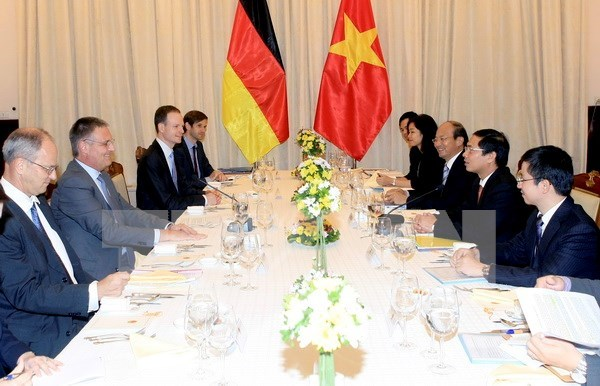 Vietnam, Germany convene strategic management groups' meeting hinh anh 1