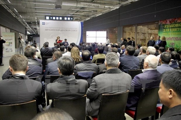 Vietnam's exhibition space opens in Moscow hinh anh 1