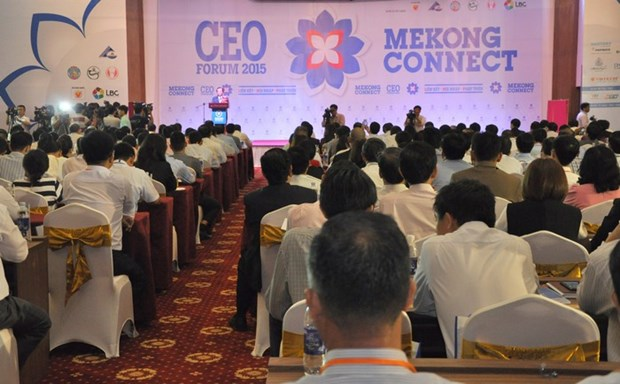 Mekong Connect-CEO Forum 2016: Seeking chances in challenges hinh anh 1