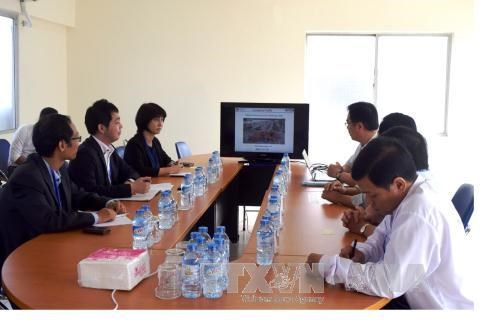 Japan trade officials study Bac Lieu business environment hinh anh 1