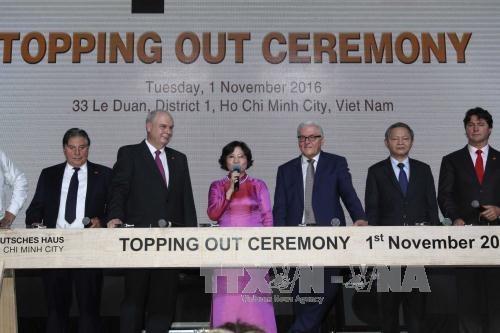 German top diplomat visits HCM City hinh anh 1