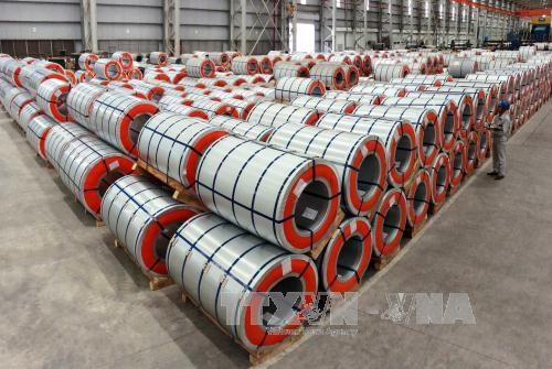 Steel production sees strong growth in October hinh anh 1