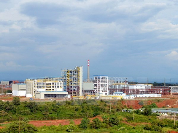 Alumin Nhan Co plant produces first tonne of hydrate hinh anh 1