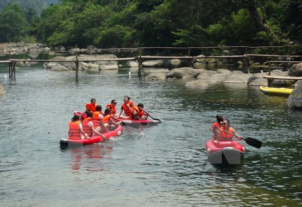 Fish death-affected central provinces helped with restoring tourism hinh anh 1