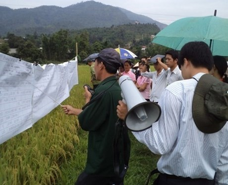 JICA inspects ODA-funded rural development project in Dien Bien hinh anh 1