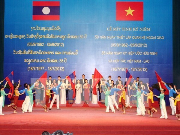 Friendship associations work to cement Vietnam-Lao relations hinh anh 1