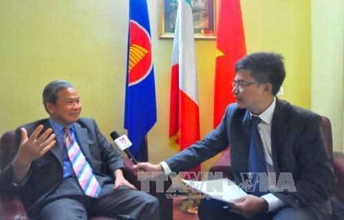 Vietnam-Italy economic ties develop fruitfully hinh anh 1