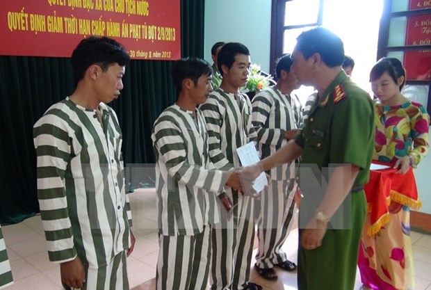 Five teams to inspect granting of pardons to prisoners hinh anh 1