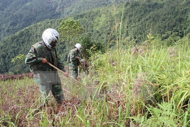 Project launched to clear unexploded ordnances in Ha Tinh hinh anh 1