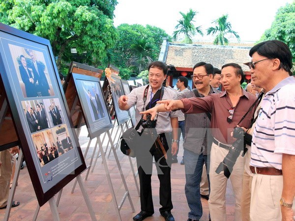 Embassy marks 20th founding anniversary of Vietnam-US ties hinh anh 1