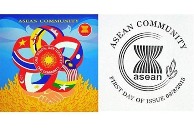 Vietnamese stamp celebrates establishment of ASEAN Community hinh anh 1