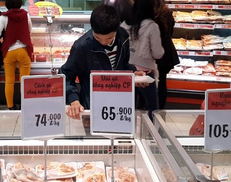 US chicken products make up almost half of Vietnam's meat imports hinh anh 1