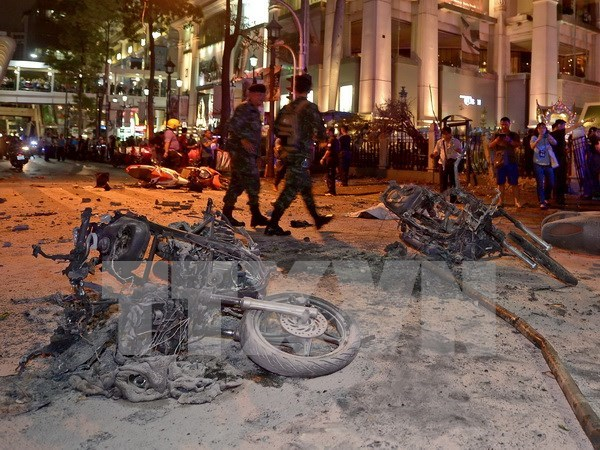 Bangkok bombing: death toll rises to 22, 123 others wounded hinh anh 1