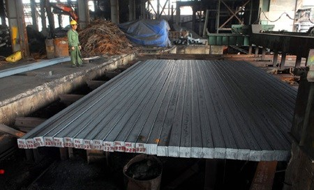 Steel output reaches highest in a decade hinh anh 1