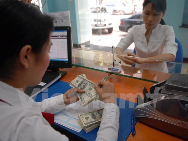 Average VND/USD exchange rate rises by another 1 percent hinh anh 1