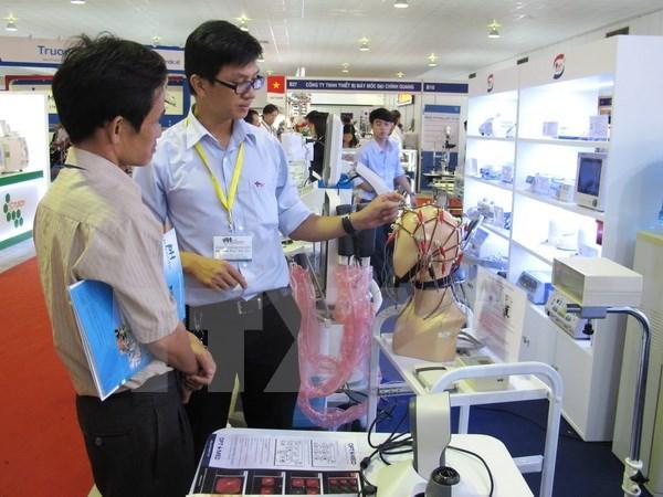 Vietnam Medi-Pharm expo 2015 opens in HCM City hinh anh 1