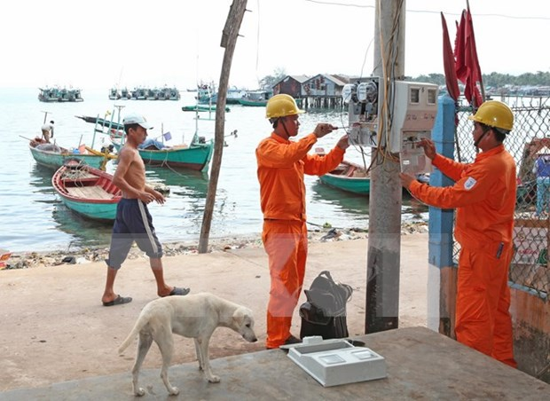 Kien Giang: more remote areas to be connected with national grid hinh anh 1