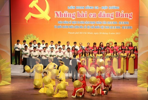 Special concert to celebrate National Day hinh anh 1