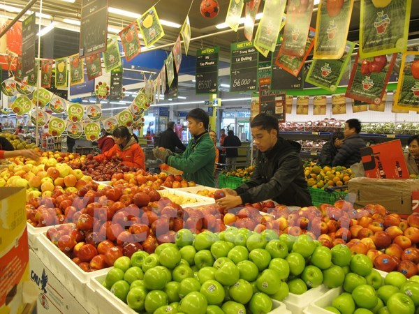 HCM City's August CPI drops 0.12 percent monthly hinh anh 1