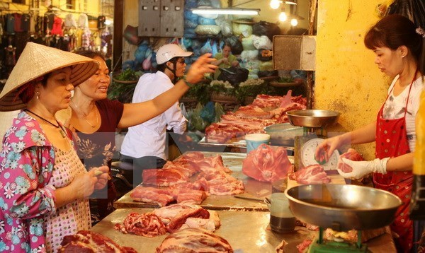 CPI slightly decreases in August hinh anh 1