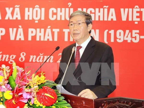 National seminar casts light on significance of August Revolution hinh anh 1