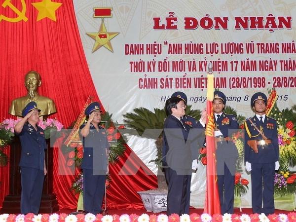 Vietnam Coast Guard High Command celebrates 17th birthday hinh anh 1