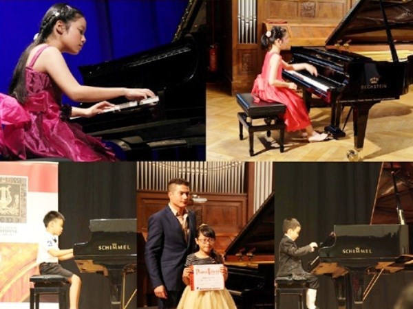 Hanoi international youth piano contest opens hinh anh 1