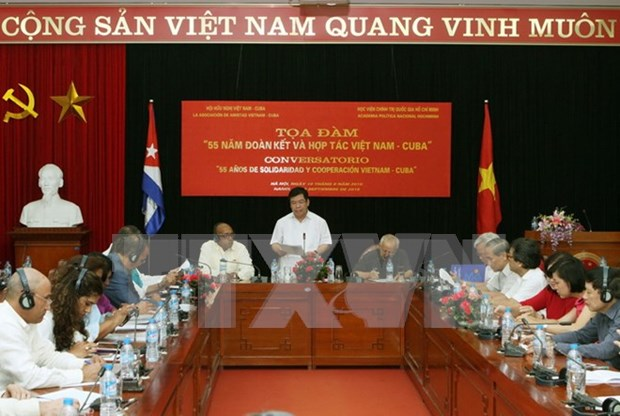 55 years of Vietnam-Cuba solidarity, cooperation reviewed hinh anh 1