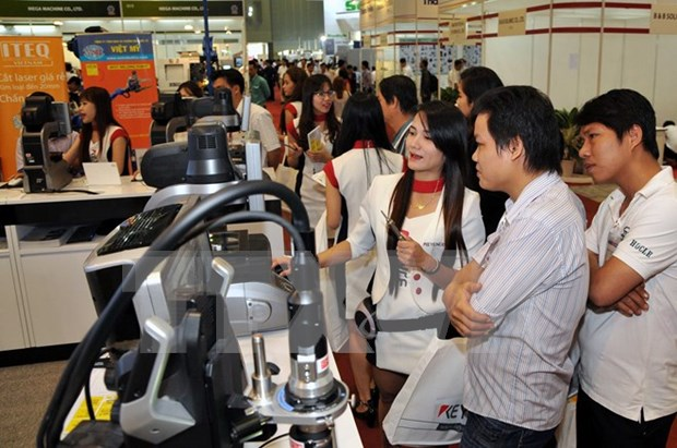 Exhibitions connect supporting industry firms hinh anh 1