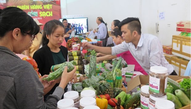 First safe farm produce market in HCM City hinh anh 1