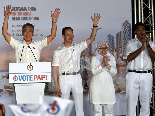 Party leader congratulates Singapore's PAP on election win hinh anh 1